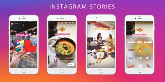 En Instagram Stories, se puede usar más de una imagen