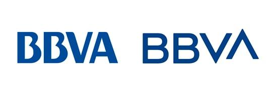 Rebranding del logo de BBVA