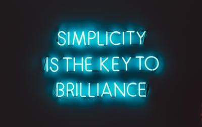 en el diseño de infografías la simplicidad es la clave de la brillantez