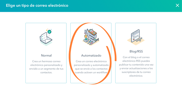 automatizacion de email marketing en hubspot