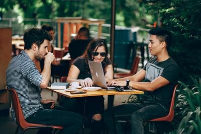 team for translating marketing materials