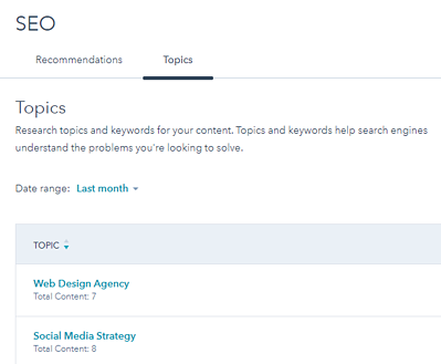 hubspot product updates for seo