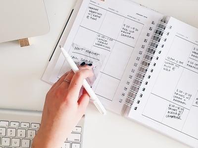calendário editorial em Estratégia de Marketing de Conteúdos
