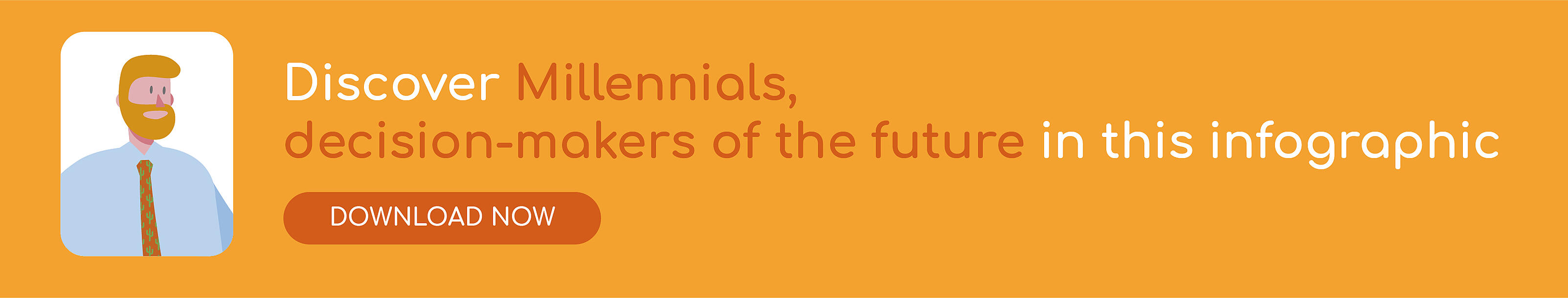 Infographic millennials decision-makers of the future
